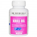 Dr. Mercola, Premium Supplements, Antarctic Krill Oil for Women, 90 Capsules