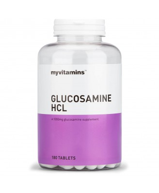 Glucosamine HCl (180 Tablets) - Myvitamins