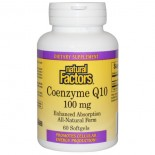 Coenzyme Q10- 100 mg (60 softgels) - Natural Factors