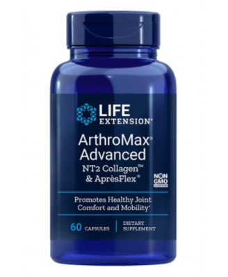 Arthromax Advanced Met Uc-Ii & Aprèsflex - 60 Capsules - Life Extension
