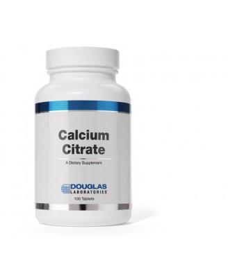 Citrato de calcio - 100 comprimidos - douglas laboratorios