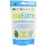 Organic Hard Candies, Wild Peppermint, 3.3 oz (93.6 g) - Yummy Earth