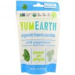 Organic Hard Candies, Wild Peppermint, 3.3 oz (93.6 g) - Yummy Earth