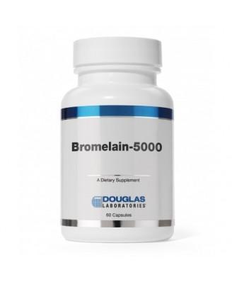 Bromelina-5000 - 60 cápsulas - Douglas Laboratories