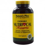 Nutri-Cal Hearts, Chewable (120 Tablets) - Nature's Plus