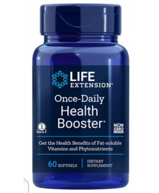 Life Extension, Once-Daily Health Booster, 60 softgels