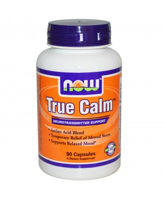 Now Foods, True Calm, 90 Veggie Caps