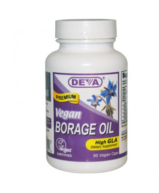 Borage Oil (90 Vegan Caps) - Deva