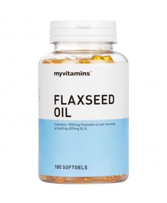 Myvitamins Flaxseed Oil, 60 Softgels (60 Softgels) - Myvitamins