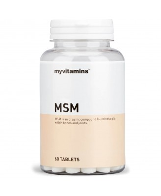 Myvitamins MSM, 180 Tablets (180 Tablets) - Myvitamins