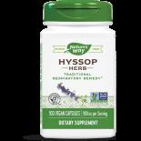 HYSOP KRUID 450 MG (100 CAPSULES) - NATURE'S WAY