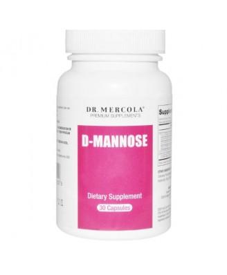 D-manosa, con Cran-Gyn DDS - 30 cápsulas - Dr. Mercola
