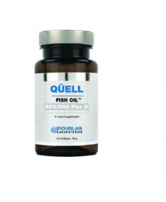 Sofocar el aceite de pescado - alto EPA + DHA w, vitamina D3 (30 tabletas) - Douglas Laboratories