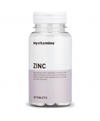 Zinc (30 Tablets) - Myvitamins