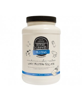 Whey Protein Isolate (600 grams) Royal Green