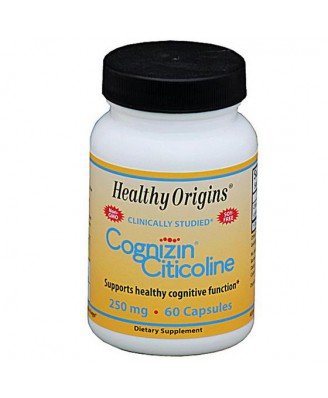 Cognizin Citicoline 250 mg (60 Veggie Caps ) - Healthy Origins