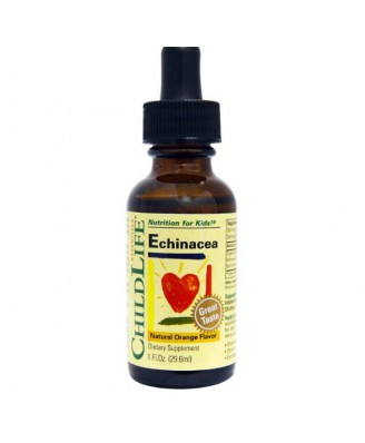 ChildLife Essentials - Echinacea, aroma de naranja natural  (1 oz 29.6 ml)