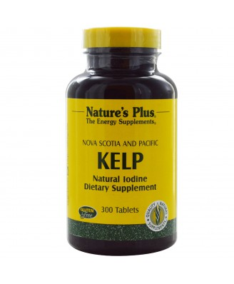 Norwegian Kelp (300 Tablets) - Nature's Plus