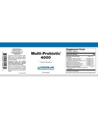 Multi-Probiotic 4000 (100 caps) - Douglas Laboratories