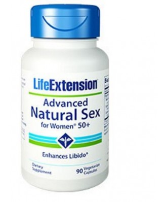 Advanced Natural Sex Para Mujeres 50+ -  90 Cápsulas Vegetarianas - Life Extension