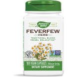 Nature's Way, Feverfew Leaves 380 mg, 100 Capsules