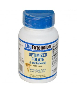 Comprar optimizado folato Life Extension