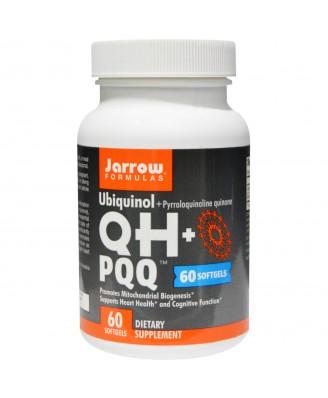 Jarrow Formulas, Ubiquinol, QH+ PQQ, 60 Softgels