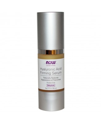 Hyaluronic Acid Firming Serum (30 ml) - Now Foods