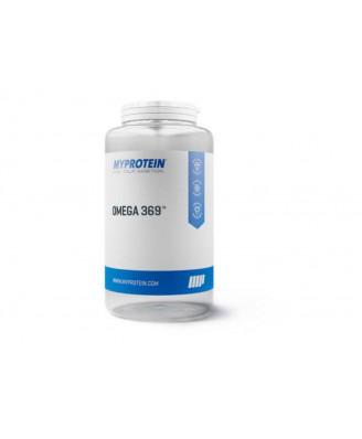 OMEGA 3 6 9 Cápsulas de Aceite de Pescado 1000mg - 120 Tabs - Myprotein