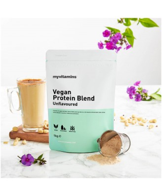 Vegan Protein Blend - Unflavoured (1000 gram) - Myvitamins