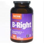 Vitamine B - B-Right, vitamine B-Complex (100 Capsules) - Jarrow Formulas