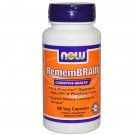 RememBrain (60 Vegetarian Capsules) - Now Foods