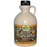 Organic Maple Syrup, Grade A, Medium Amber (946 ml) - Now Foods