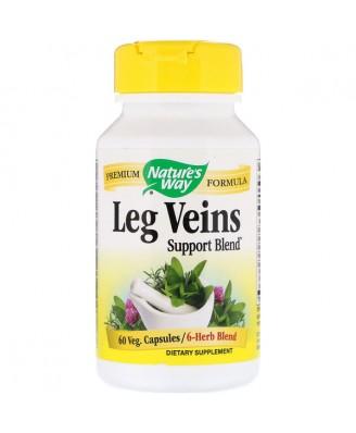Nature's Way, Leg Veins with Tru-OPCs, 435 mg, 60 Capsules