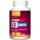 Vitamin D3 1000 IU (100 softgels) - Jarrow Formulas