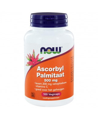 Ascorbyl Palmitaat 500 mg (100 vegicaps) - NOW Foods