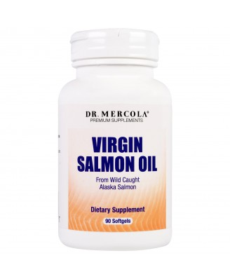 Dr. Mercola, Premium Supplements, Virgin Salmon Oil, 90 Softgels