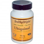 Healthy Origins, Ubiquinol ( Kaneka QH ), 50 mg, 60 Softgels