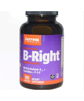 Vitamine B - B-Right, vitamine B-Complex (100 Capsules) - Jarrow Formulas