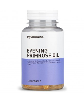 Myvitamins Evening Primrose Oil, 180 Soft Gels (180 Softgels) - Myvitamins