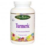 Turmeric (60 Veggie Caps) - Paradise Herbs