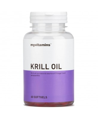 Myvitamins Krill Oil, 60 Soft Gels (60 Softgels) - Myvitamins