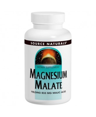 Magnesium Malate (180 tablets) - Source Naturals
