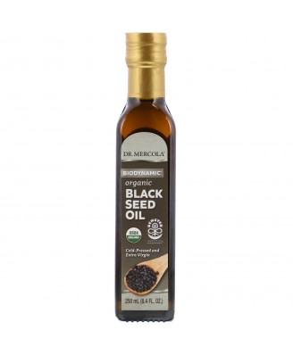 Biodynamic Organic Black Seed Oil 250 ml - Dr Mercola