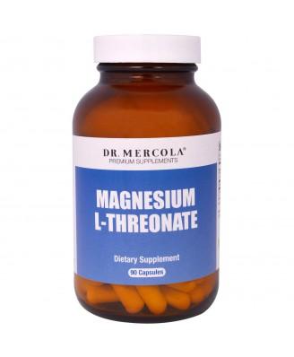 Dr. Mercola, Premium Supplements, Magnesium L-Threonate, 90 Capsules