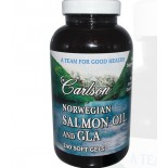 Carlson Labs, Norwegian Salmon Oil and GLA, 240 Softgels