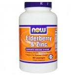 La baya del saúco y comprar -  El zinc saúco y - Zinc Now Foods