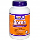 Now Foods, Boron, 3 mg, 250 Capsules