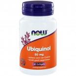 Ubiquinol 50 mg (60 softgels) - NOW Foods