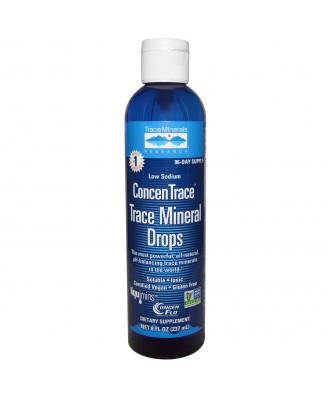 ConcenTrace, Trace Mineral Drops (237 ml) - Trace Minerals Research